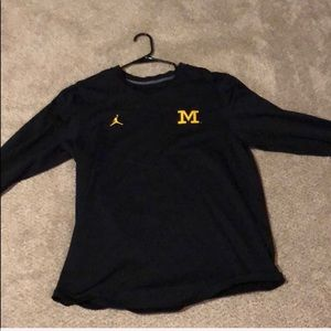 Air Jordan x Michigan Men's Large Crewneck
